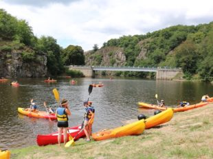 Bateau promenade & Location canoës-kayak, Paddle sur Lac d'Eguzon à SAINT-PLANTAIRE - 7  © Hôtel du Lac