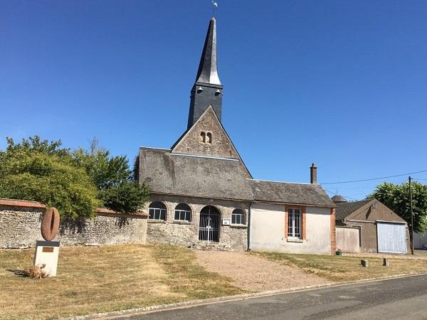 Eglise Saint-Aignan de Teillay-le-Gaudin à OUTARVILLE © otgp