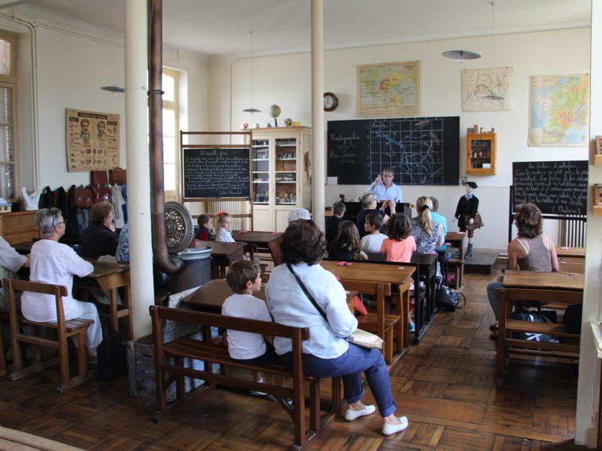 Musée D'école Fernand Bouttet – Ateliers à CHALETTE-SUR-LOING © OT AME