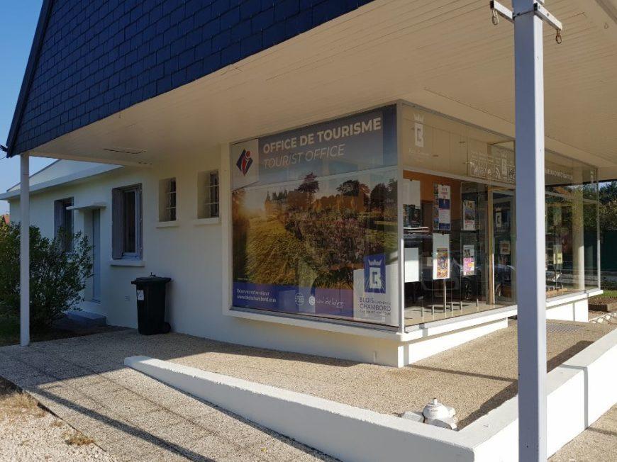 Bureau d'information touristique de Chaumont-sur-Loire à CHAUMONT-SUR-LOIRE © Blois Chambord