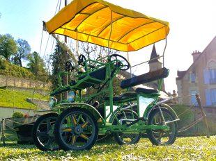 Stations Bee's – Location de vélos électriques et rosalies à Chaumont-sur-Loire à CHAUMONT-SUR-LOIRE - 2  © OUI