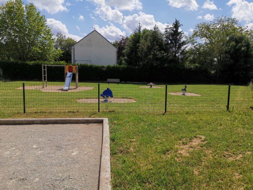 Aire de jeux Baigneaux à BAIGNEAUX © mtcb