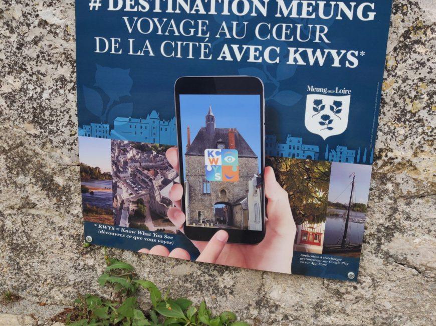 KWYS – Parcours connecté sur le patrimoine Magdunois à MEUNG-SUR-LOIRE ©  Office de Tourisme des Terres du Val de Loire