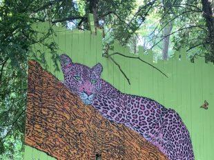 Street Art Parc du château de Môh à CANDES-SAINT-MARTIN - 11  © M Pignet
