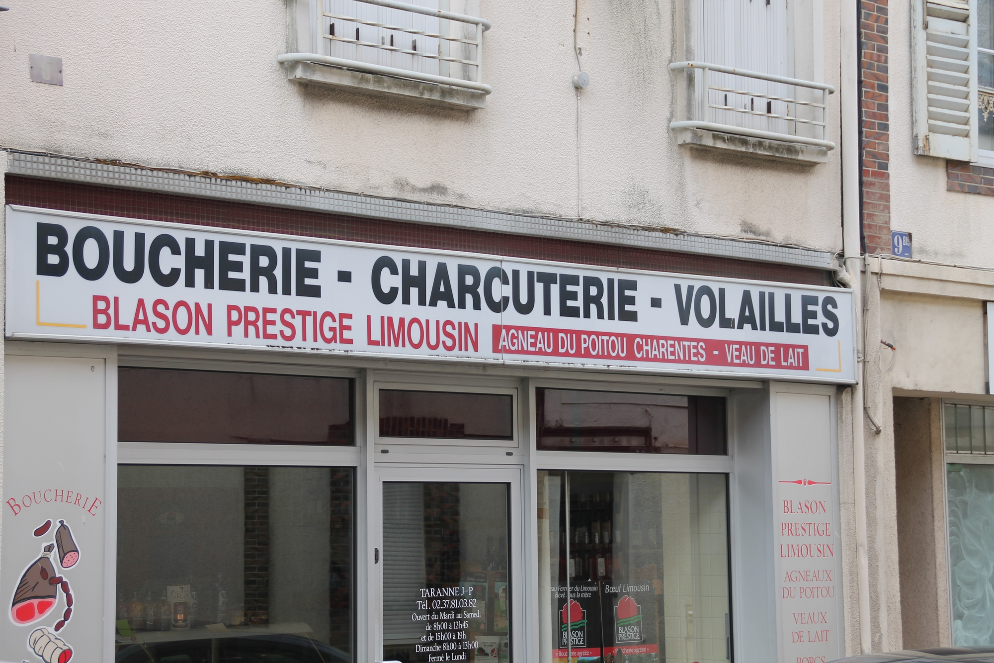 Boucherie charcuterie Taranne à LA LOUPE © emiliebarthellemy