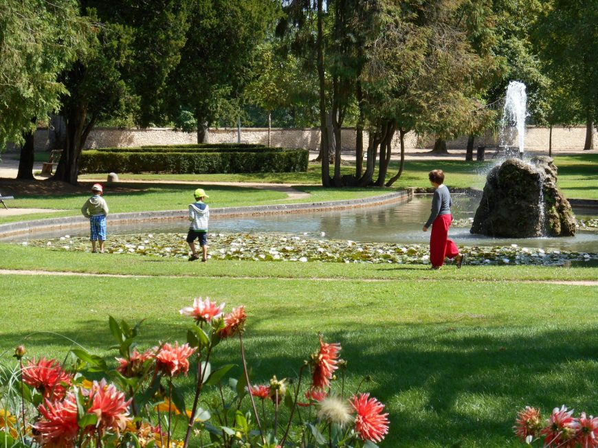 Jardin Durzy à MONTARGIS © OT AME