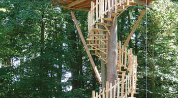 L'Auberge Grand'Maison «cabane du cerf»
