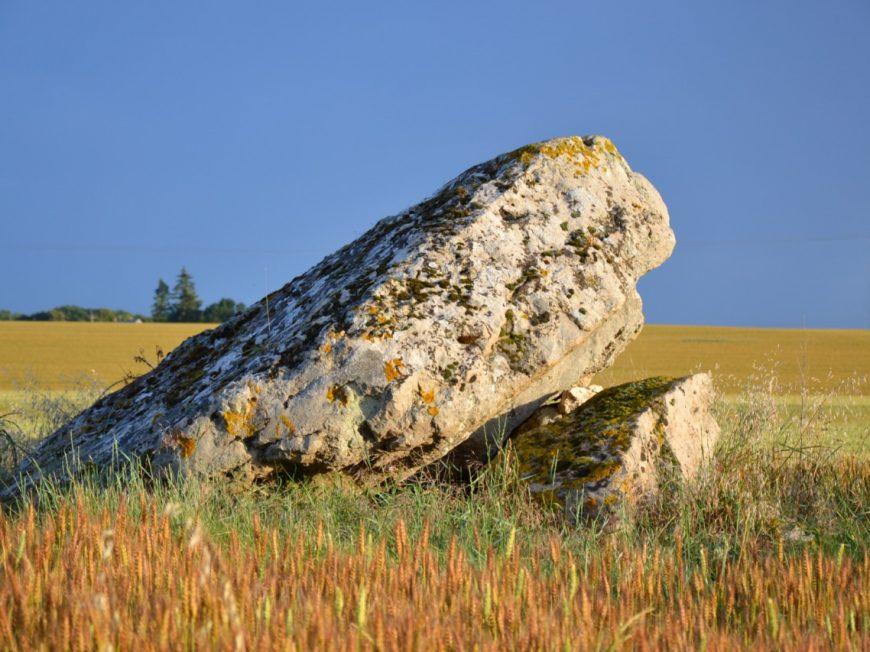 Dolmen , le Palet de Gargantua à NOTTONVILLE © Leveillard