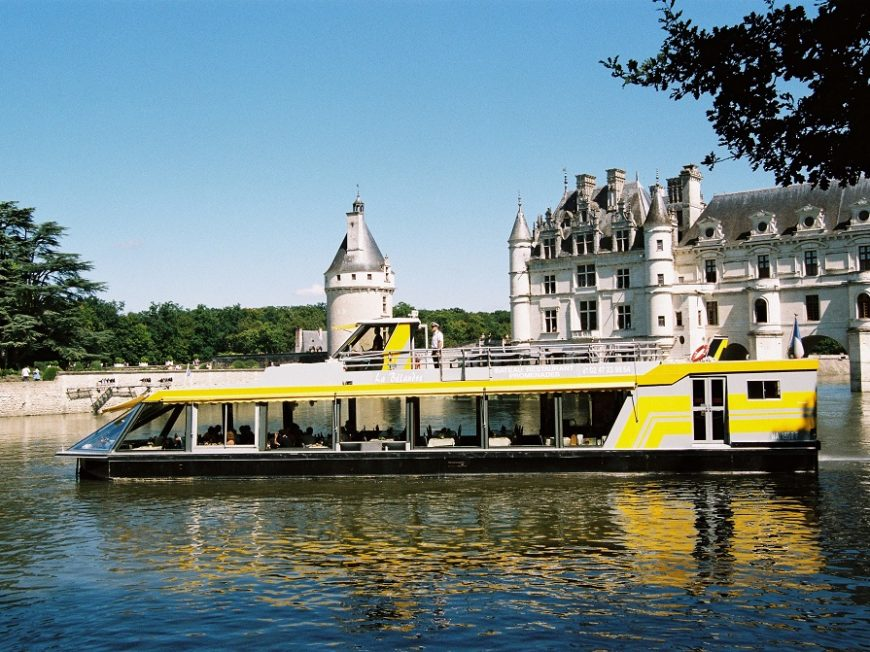 Chenonceaux en bateaux à CHISSEAUX © Droits réservés