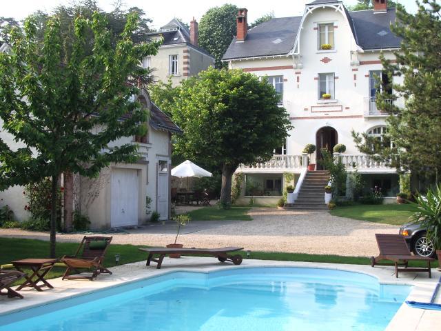 Chambre d'hôtes La Fontaine Gourdon à TOURS © lafontainegourdon