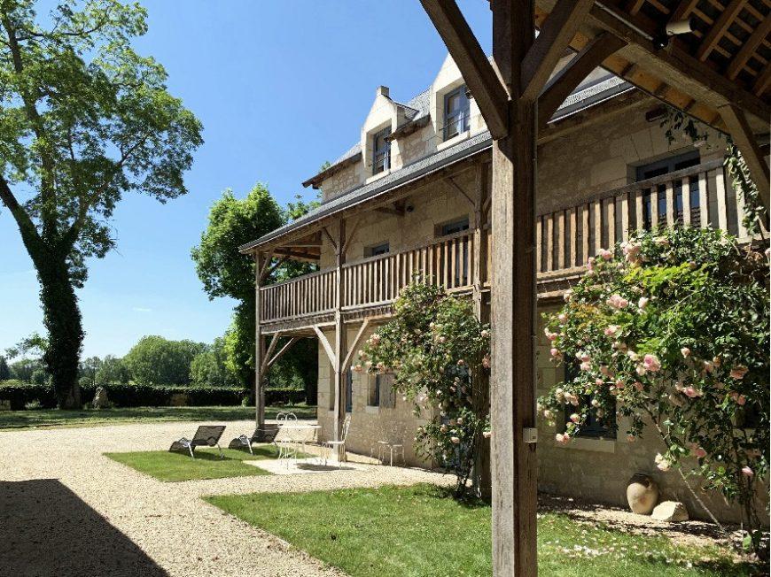 Relais de Sonnay : La Loge Fernand de Saint-Exupéry à CRAVANT-LES-COTEAUX © Relais de Sonnay