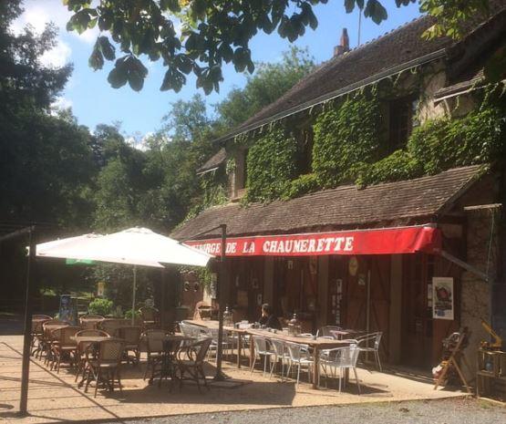 L'auberge de la chaumerette à GARGILESSE-DAMPIERRE © la chaumerette