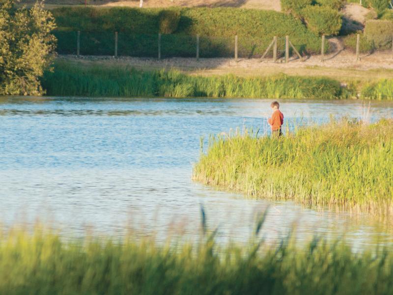 Lac de Rillé à RILLE ©  Stevan Lira