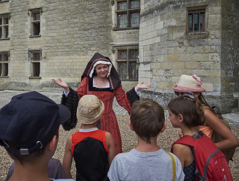 Sur les pas d'Anne de Bretagne à LANGEAIS © JB Rabouan