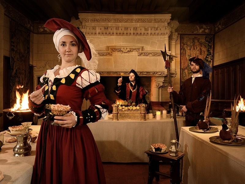 Vie de château – l'art des divertissements à la Renaissance à LANGEAIS © J.B. Rabouan