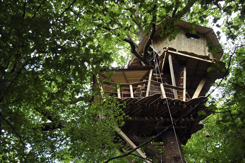 Les Cabanes du Bois-Landry à CHAMPROND-EN-GATINE - 3  © CDT 28