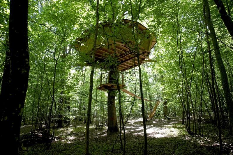 Les Cabanes du Bois-Landry à CHAMPROND-EN-GATINE - 15  © CDT 28