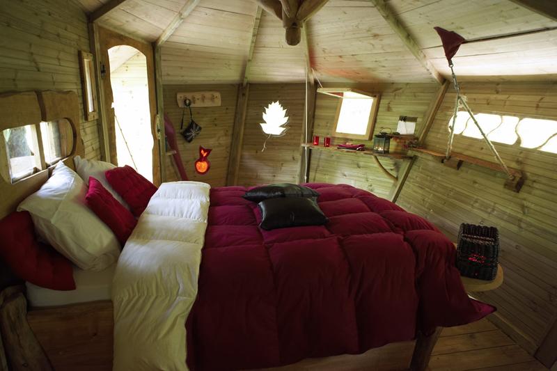 Les Cabanes du Bois-Landry à CHAMPROND-EN-GATINE - 11  © CDT 28