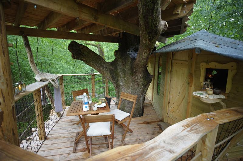 Les Cabanes du Bois-Landry à CHAMPROND-EN-GATINE - 16  © CDT 28
