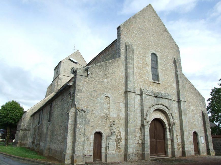Eglise du Puiset à JANVILLE-EN-BEAUCE © mtcb