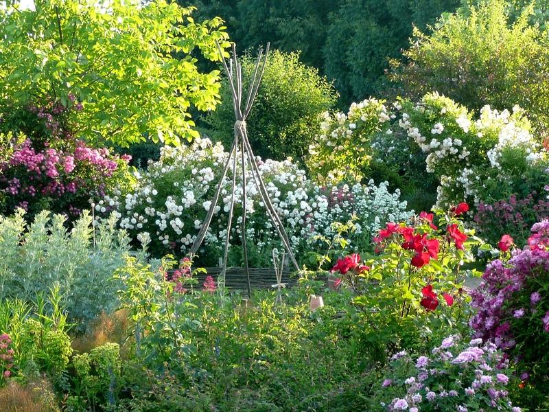 Les Jardins de Roquelin à MEUNG-SUR-LOIRE ©  Les Jardins de Roquelin