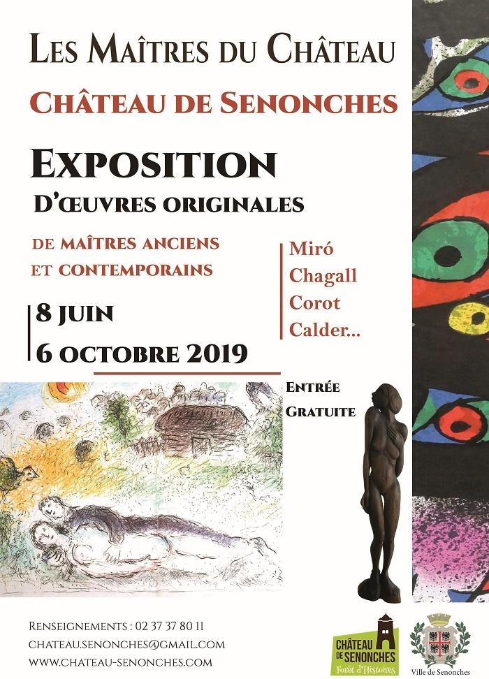 Les Maîtres du Château – Exposition d'Oeuvres originales à SENONCHES © Nadia Desilles