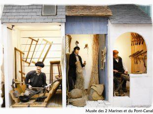 Musée des Deux Marines et du Pont-canal à BRIARE - 8  ©  René Chertier