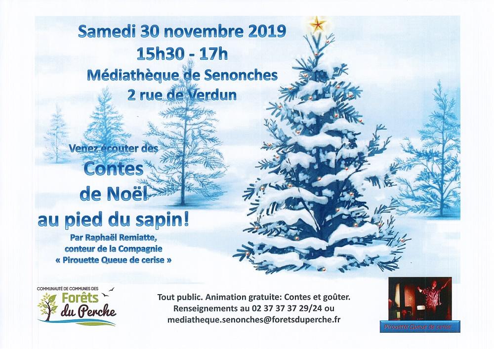Contes de Noël au pied du sapin à SENONCHES © mediatheque senonches