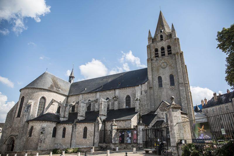Collégiale Saint-Liphard à MEUNG-SUR-LOIRE ©  A. Rue