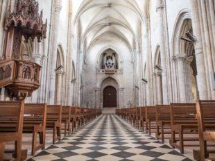 Collégiale Saint-Liphard à MEUNG-SUR-LOIRE - 2  ©  A. Rue