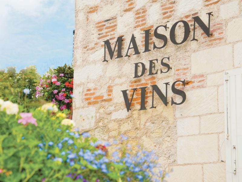 La Maison des Vins de Bourgueil à BOURGUEIL © S. Lira
