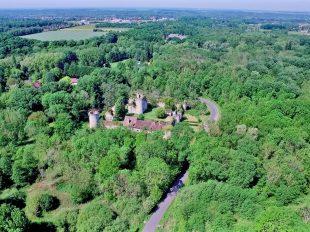 Visites au Château de Mez le Maréchal à DORDIVES - 2  © Drone Sky Picture