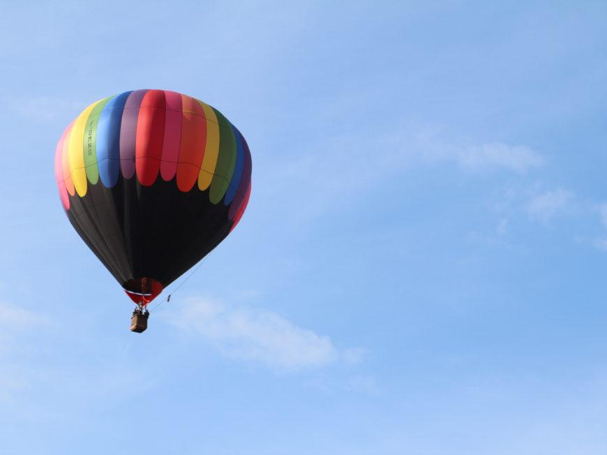 Vol en montgolfière à CHALETTE-SUR-LOING © OT AME