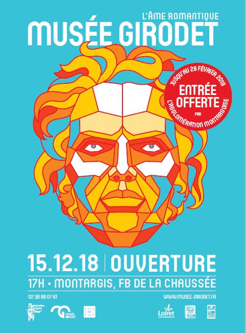 Musée Girodet – réouverture à MONTARGIS - 1