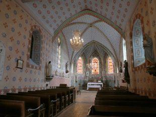 Eglise Saint-Germain à HUETRE - 3  © Tourisme Loiret C. Senard