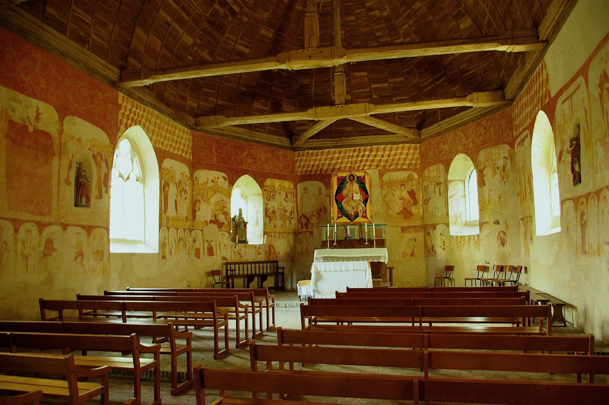 Journées Européennes du Patrimoine – Visite commentée de la Chapelle de Réveillon à LA FERTE-VIDAME - 2  © office de tourisme des forets du perche