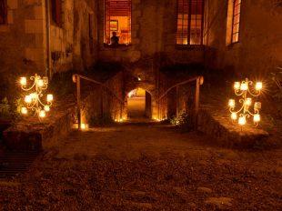 Visite nocturne aux chandelles à GIZEUX - 2  © Brigitte Decamp