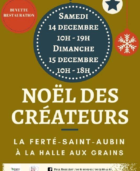 Noël des créateurs – 14 et 15 décembre 2019 à La Ferté Saint-Aubin à LA FERTE-SAINT-AUBIN © Noël des créateurs