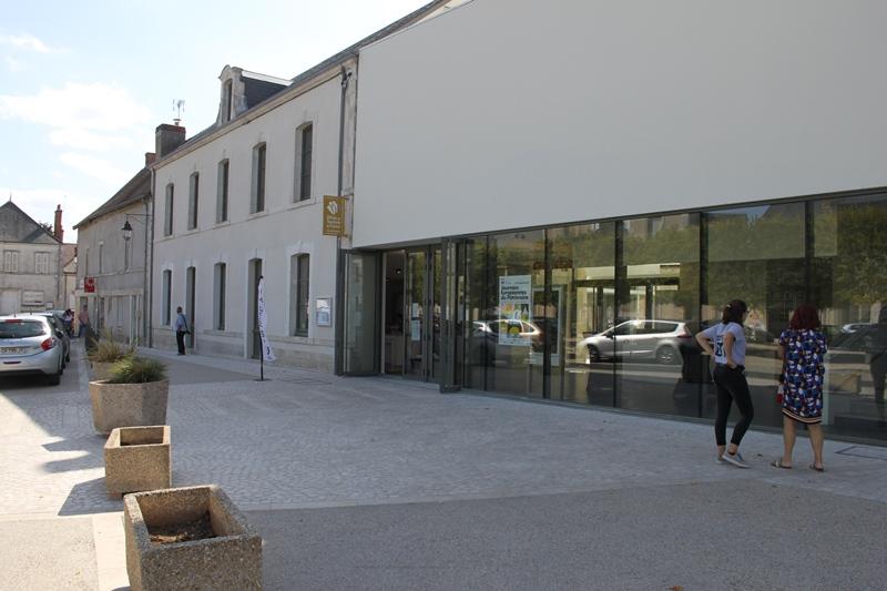 Office de Tourisme du Val de Sully – Bureau de Saint-Benoît-sur-Loire à SAINT-BENOIT-SUR-LOIRE © P. Julien