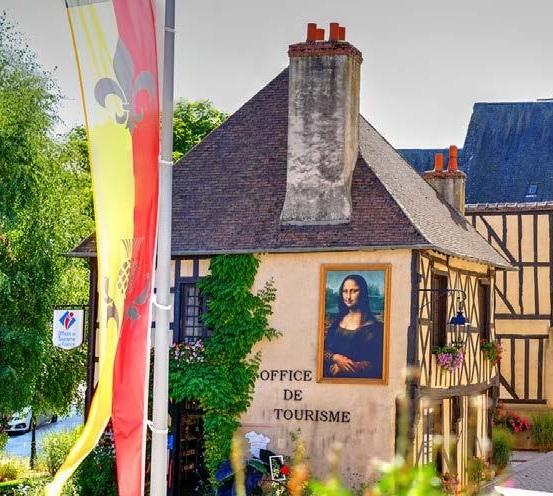 Office de Tourisme Sauldre et Sologne à AUBIGNY-SUR-NERE © C.THUILLIER