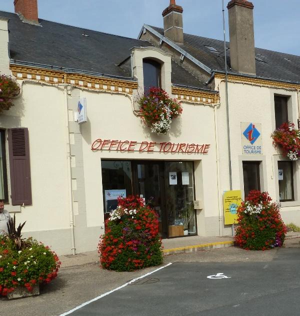 Office de Tourisme de la Vallée de la Creuse – Bureau d'Eguzon à EGUZON-CHANTOME © ADT Indre