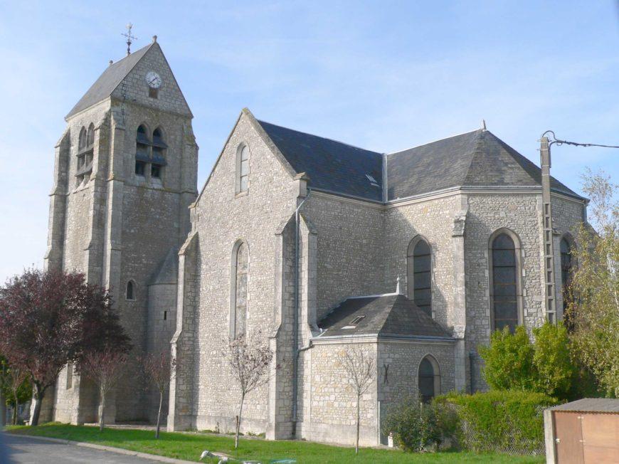 Eglise Notre-Dame et Saint-Abdon à EGRY © pastorale