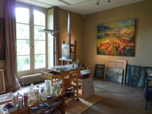 Galerie d'exposition au Château de Gargilesse à GARGILESSE-DAMPIERRE - 4  © ADTI