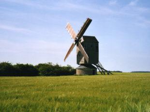 Moulin à vent «Fernand Barbier» à LEVESVILLE-LA-CHENARD - 2  © Moulin à vent
