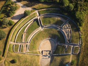 Musée et site archéologiques d'Argentomagus, jardin romain à SAINT-MARCEL - 8  ©  Hellio et Van Ingen