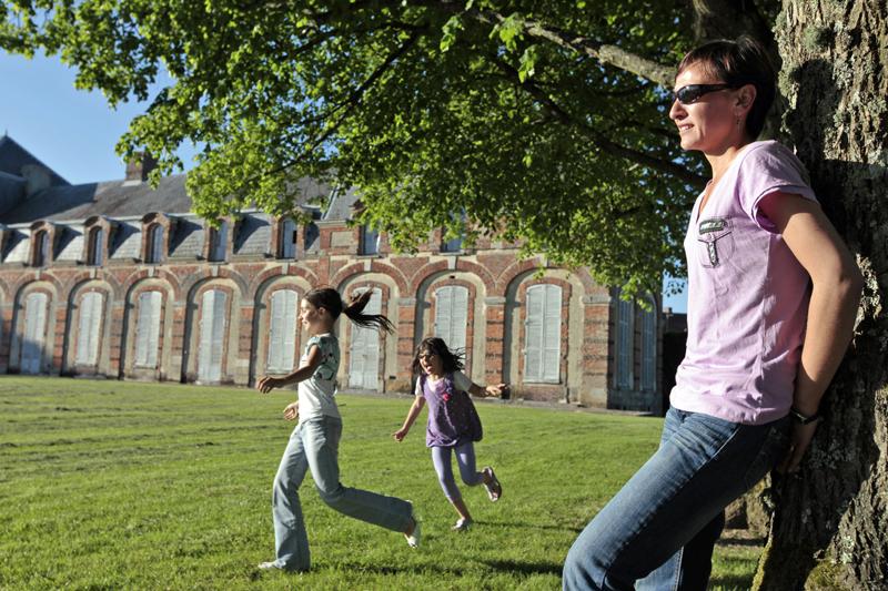 Parc du château de la Ferté-Vidame à LA FERTE-VIDAME - 3  © Patrick FORGET - www.sagaphoto.com