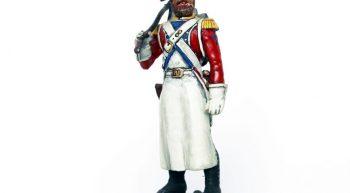 Peinture sur petit soldat (1)