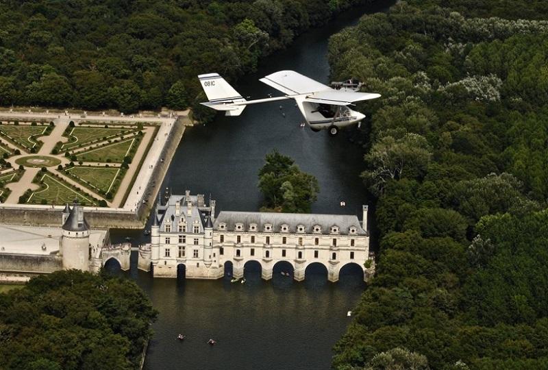 Base ulm des châteaux à FRANCUEIL © Base ulm des châteaux