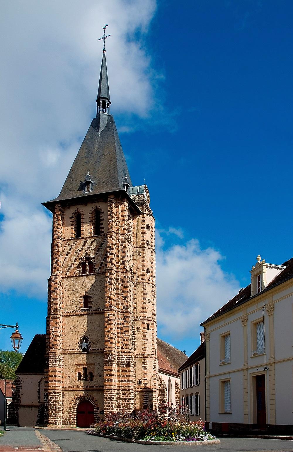 Journées Européennes du patrimoine – Visite libre de l'église à SENONCHES © henri plessiet