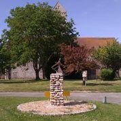 Stèle d'un clairon de l'Armistice à INTREVILLE - 3  © mtcb
